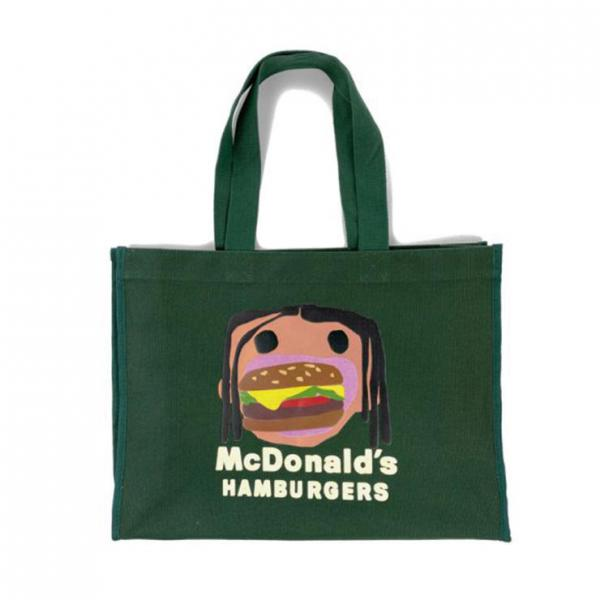 CPFM 4 CJ BURGER MOUTH TOTE