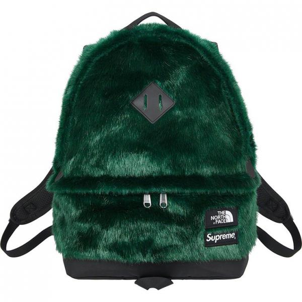 The North Face Faux Fur Backpack