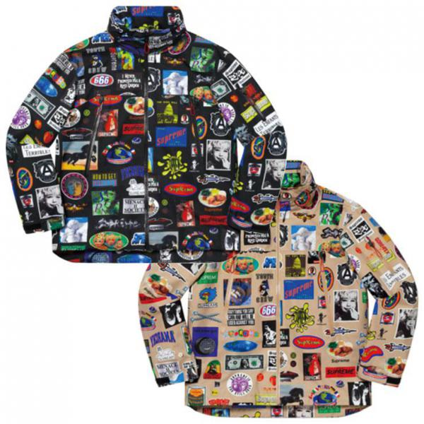 Supreme GORE-TEX Stickers Shell Jacket