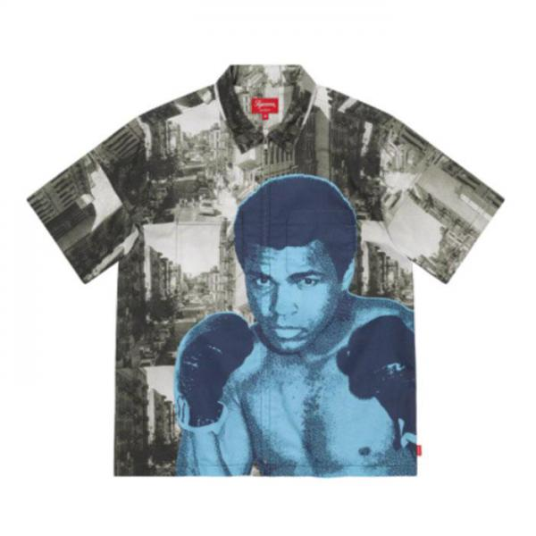 Supreme Muhammad Ali Zip Up S/S Shirt