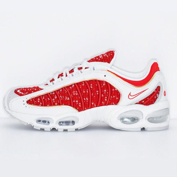 Nike Air Max Tailwind 4 Supreme Red White