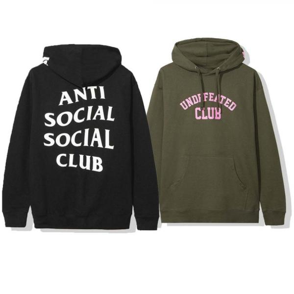 ANTI SOCIAL SOCIAL CLUB × UNDEFEATED HOODIE UNISEX
