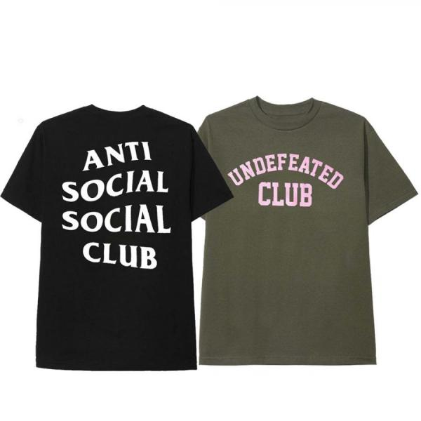 ANTI SOCIAL SOCIAL CLUB × UNDEFEATED T-SHIRT UNISEX