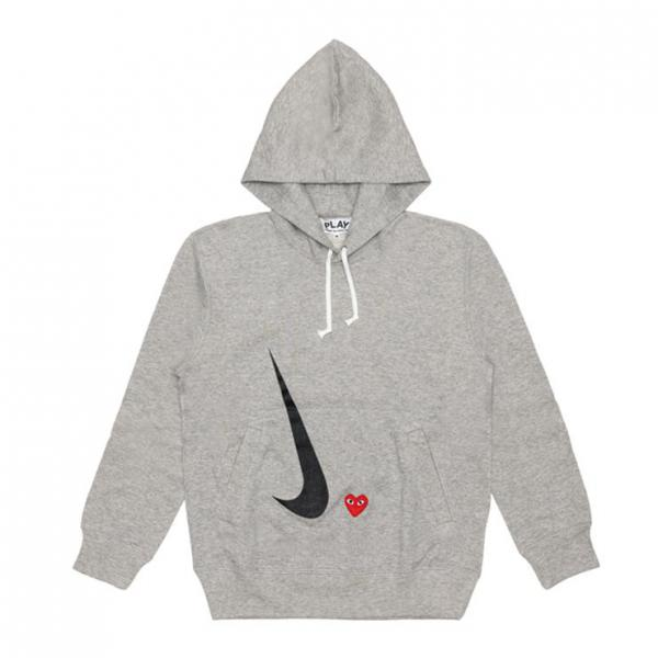 COMME DES GARCONS PLAY TOGETHER × NIKE HOODIE