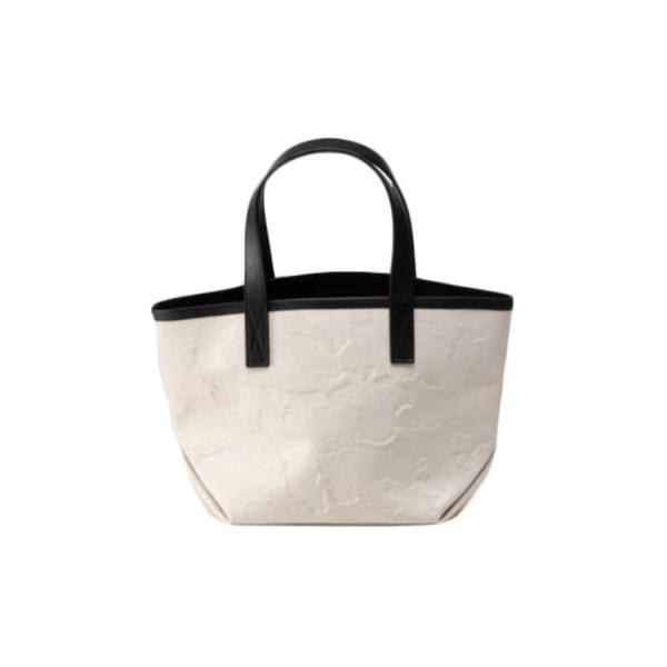 GENTIL BANDIT LABEL NOIR CANVAS TOTE PM