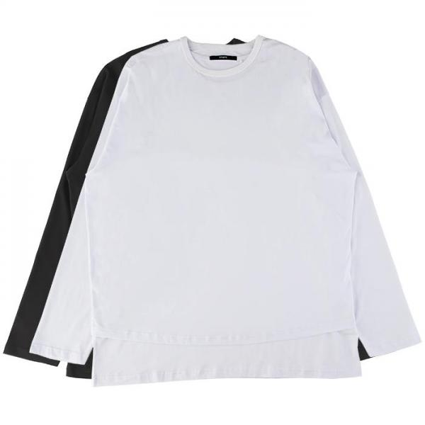 STAMPD DOUBLE LAYER RELAXED LS TEE