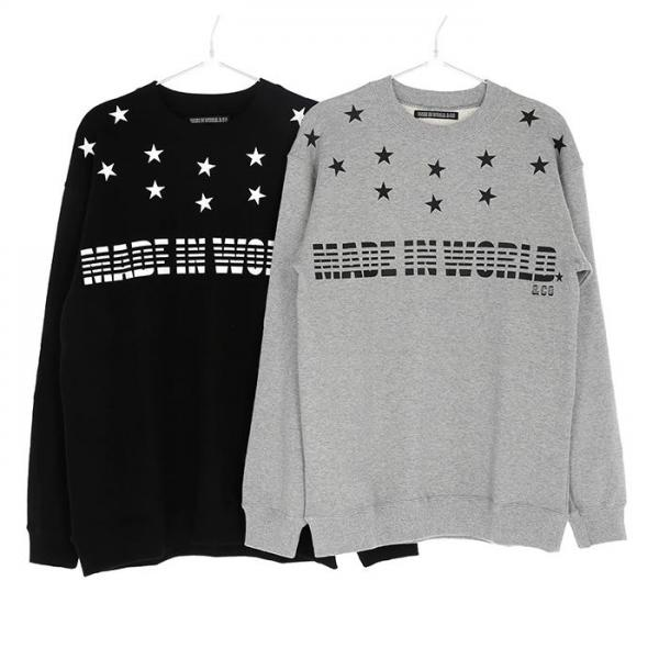 MADE IN WORLD☆&CO Crew neck Men's