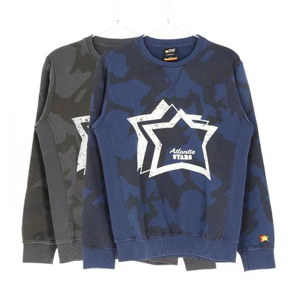 Atlantic STARS Crew neck Men's