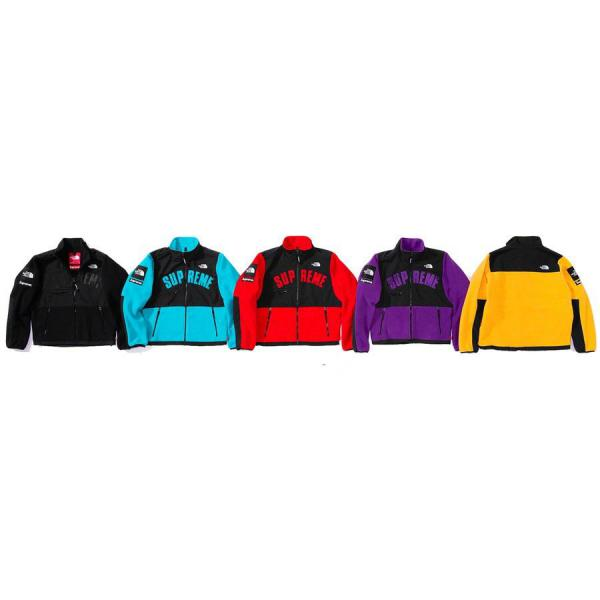 SUPREME JACKET MEN'S The North Face® Arc Logo Denali Fleece Jacket