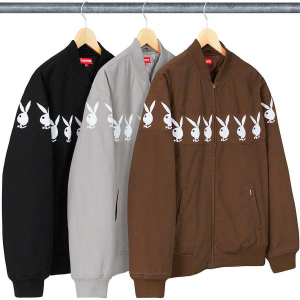 SUPREME BLOUSON MEN'S Supreme®/Playboy© Crew Jacket