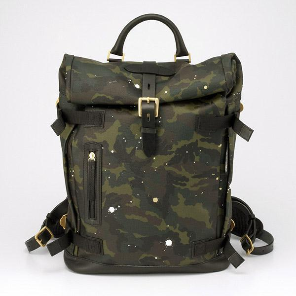 GENTIL BANDIT ROLLTOP BACKPACK GB1997-BP 2Collar