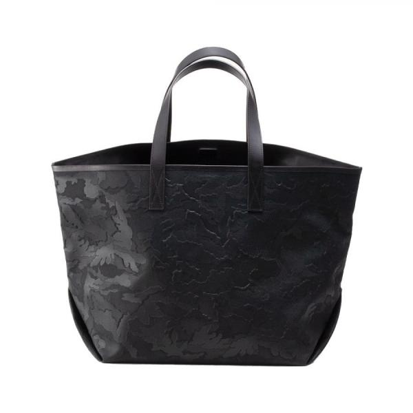 GENTIL BANDIT LABEL NOIR CANVAS TOTE GM