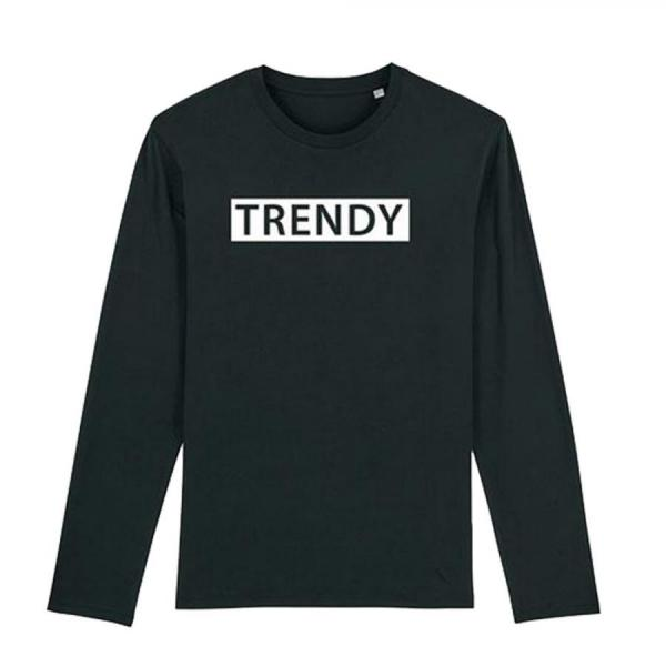 Trendy&Rare Long-sleeve Men's 2collar
